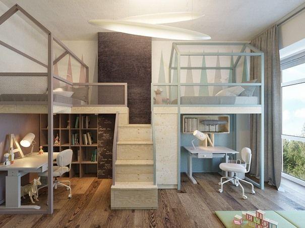 Go Hi Tech With Your Kids Room Modern Kids Room Designs Ideas
