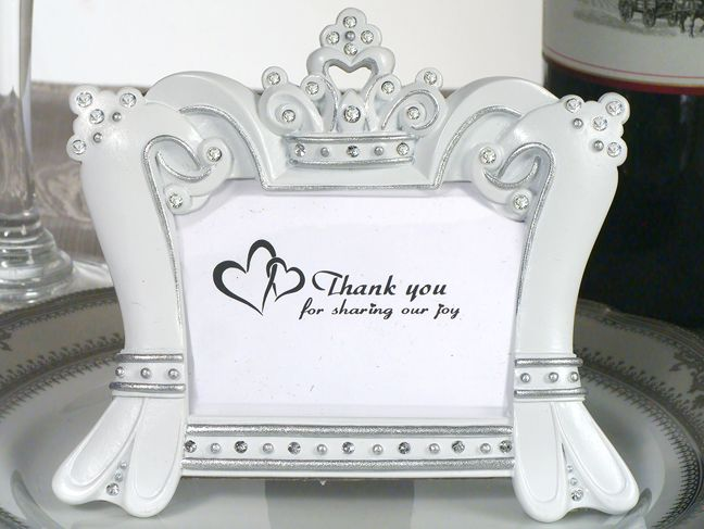 Queen For A Day Sparkling Tiara Photo Frame Favors Favors Favor