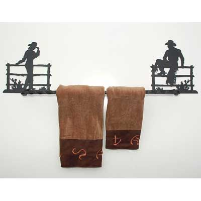 Iron Ranch Towel Bar