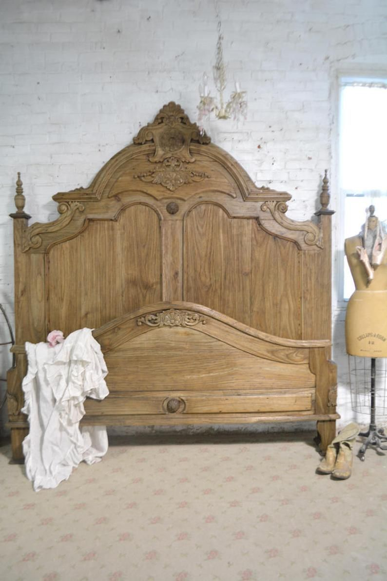 Painted Cottage Shabby Chic French Bed Queen King