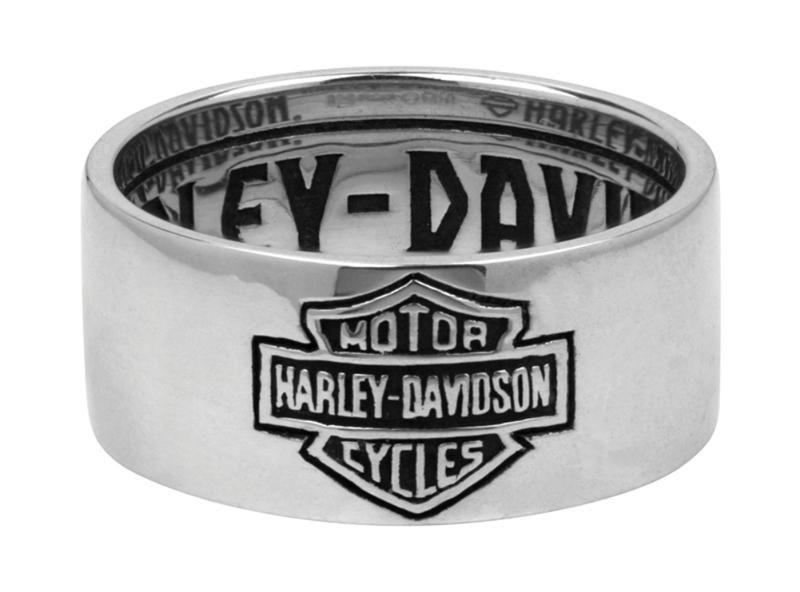 Harley DavidsonR Mens Classic Band Ring HDR0264