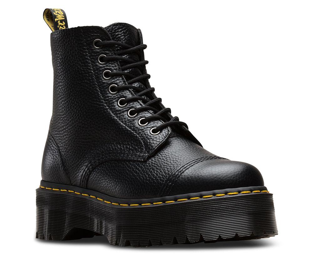 Sweet Savings on Dr Martens Sinclair Black Leather Zip