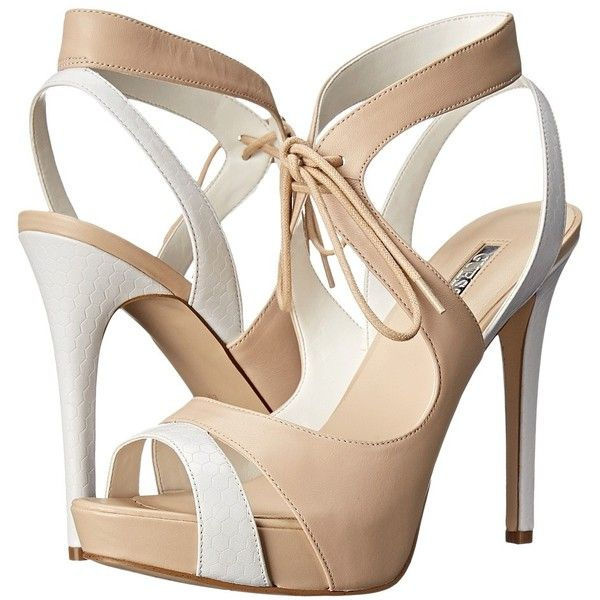 Womens Shoes GUESS Hedday Natural Leather