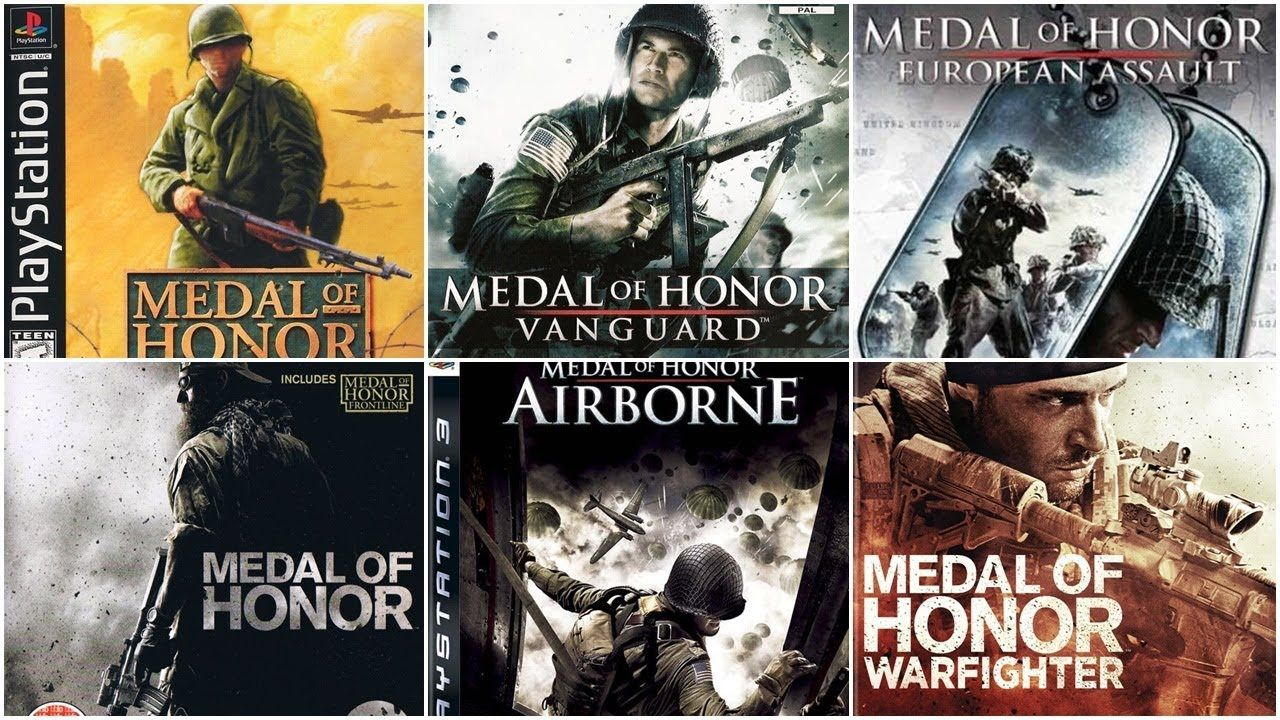 Medal Of Honor Evolution 1999 2012 Medal Of Honor Medals Honor