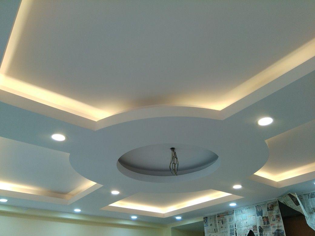 гипсокартоновые потолки фигуры фото отрицательной температуре