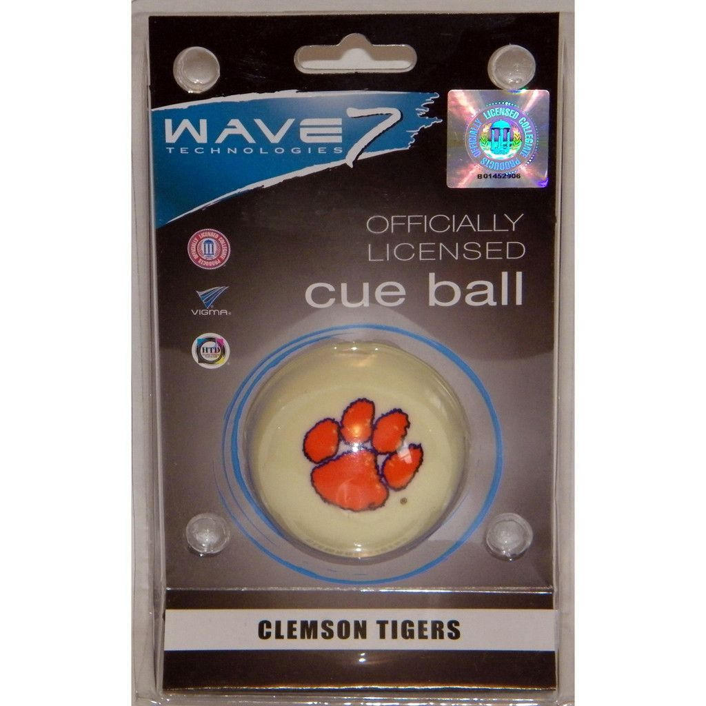 Clemson Tigers Billiard 8 Ball