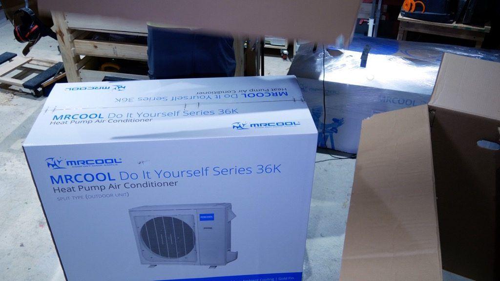 Diy Mini Split Install In Spray Foam Attic Humidity Control Installation Spray Foam Ductless Mini Split