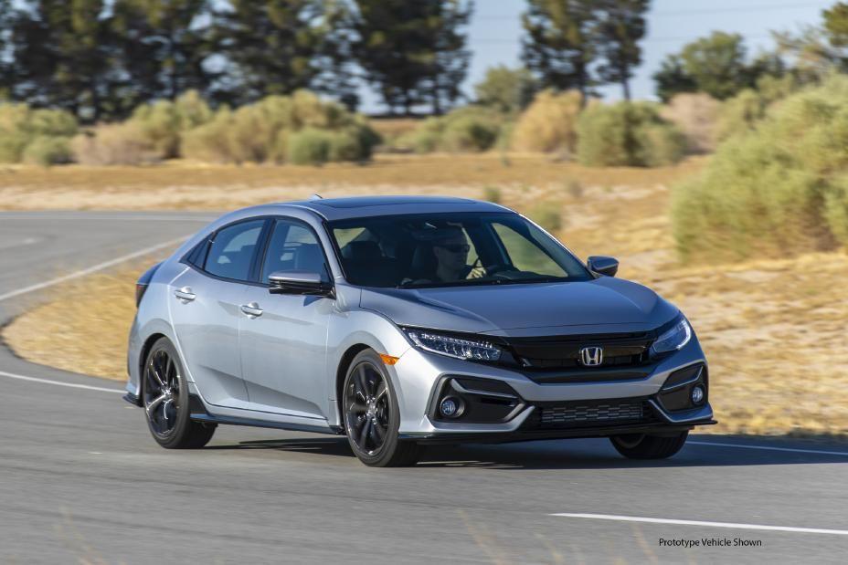 Honda Civic hatchback del 2020, con libertad y control