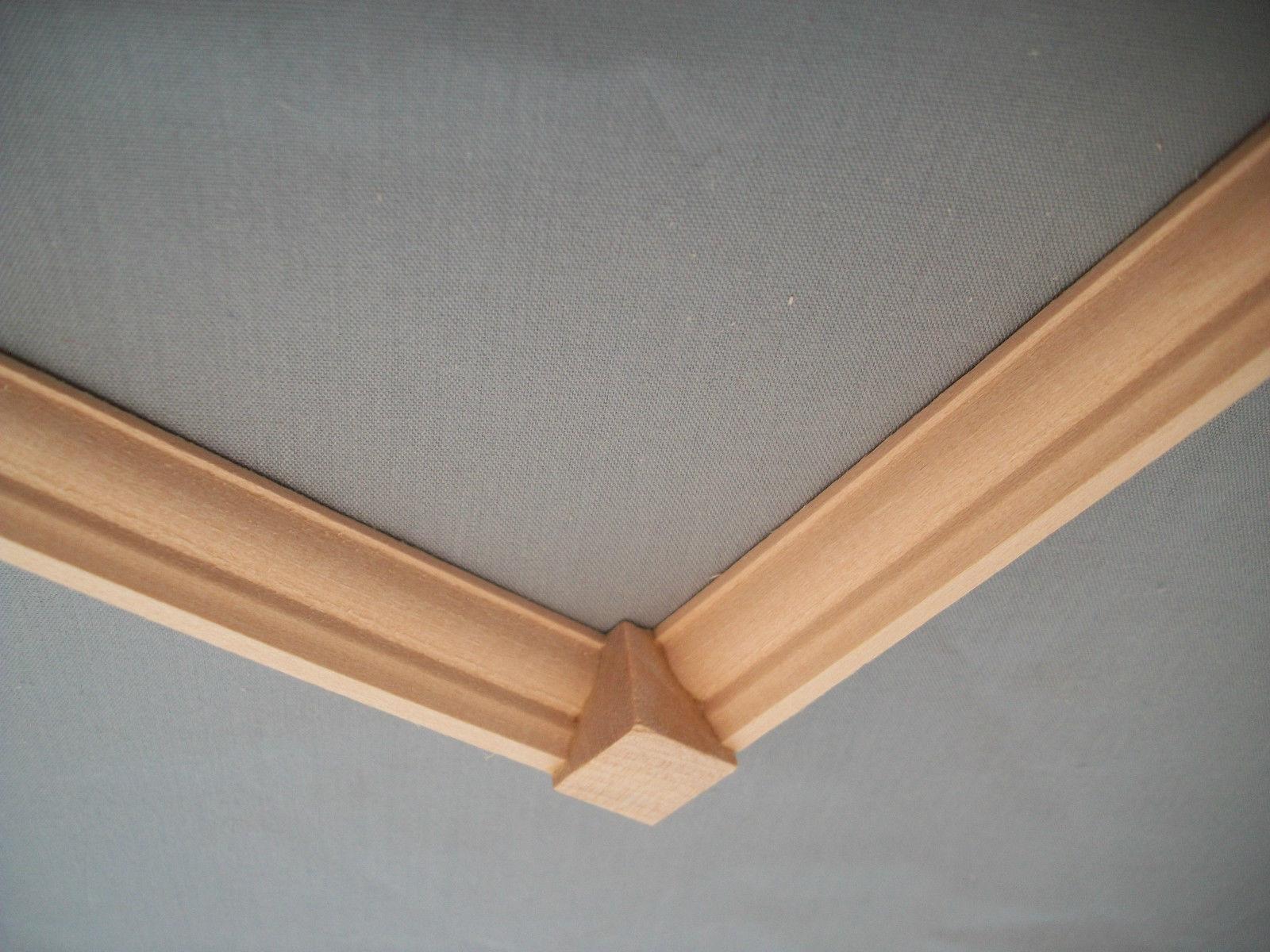 "3//16/"" radius Quarter Round Basswood Trim molding hobby 3pcs"