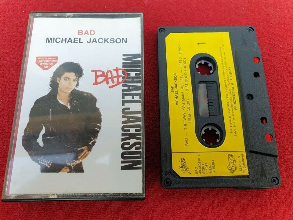 Michael jackson bad 1987 suzy yugoslavia original