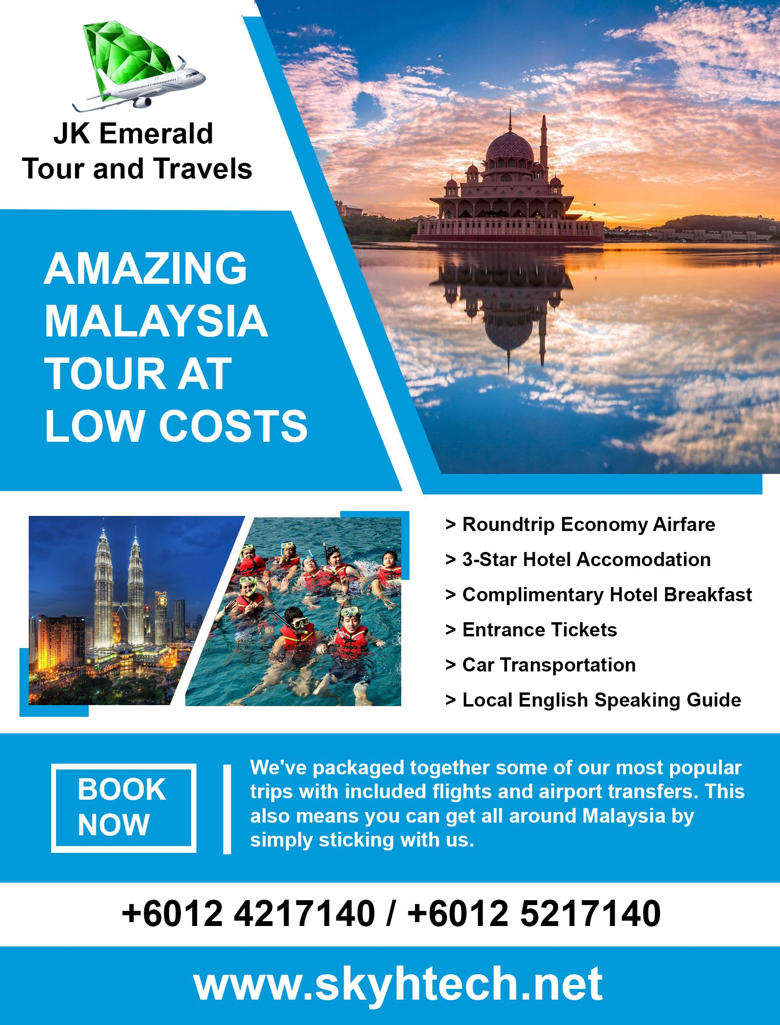 Affordable Informative and immersive our tours are for