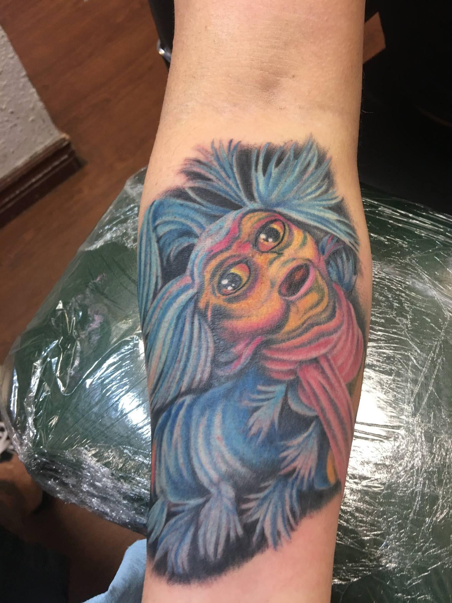 Scotty | Tattoos, Tattoo styles, Labyrinth worm
