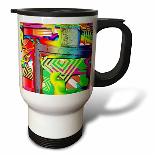 Jos Fauxtographee Abstract - Frame of a Blue Door Cut out and Swirled with Bright, Cheerful Colors of Pink, Green, Red Liquefied - 14oz Stainless Steel Travel Mug (tm_52162_1) 3dRose http://www.amazon.com/dp/B00B2UP4T4/ref=cm_sw_r_pi_dp_48GVwb0V4CQ22