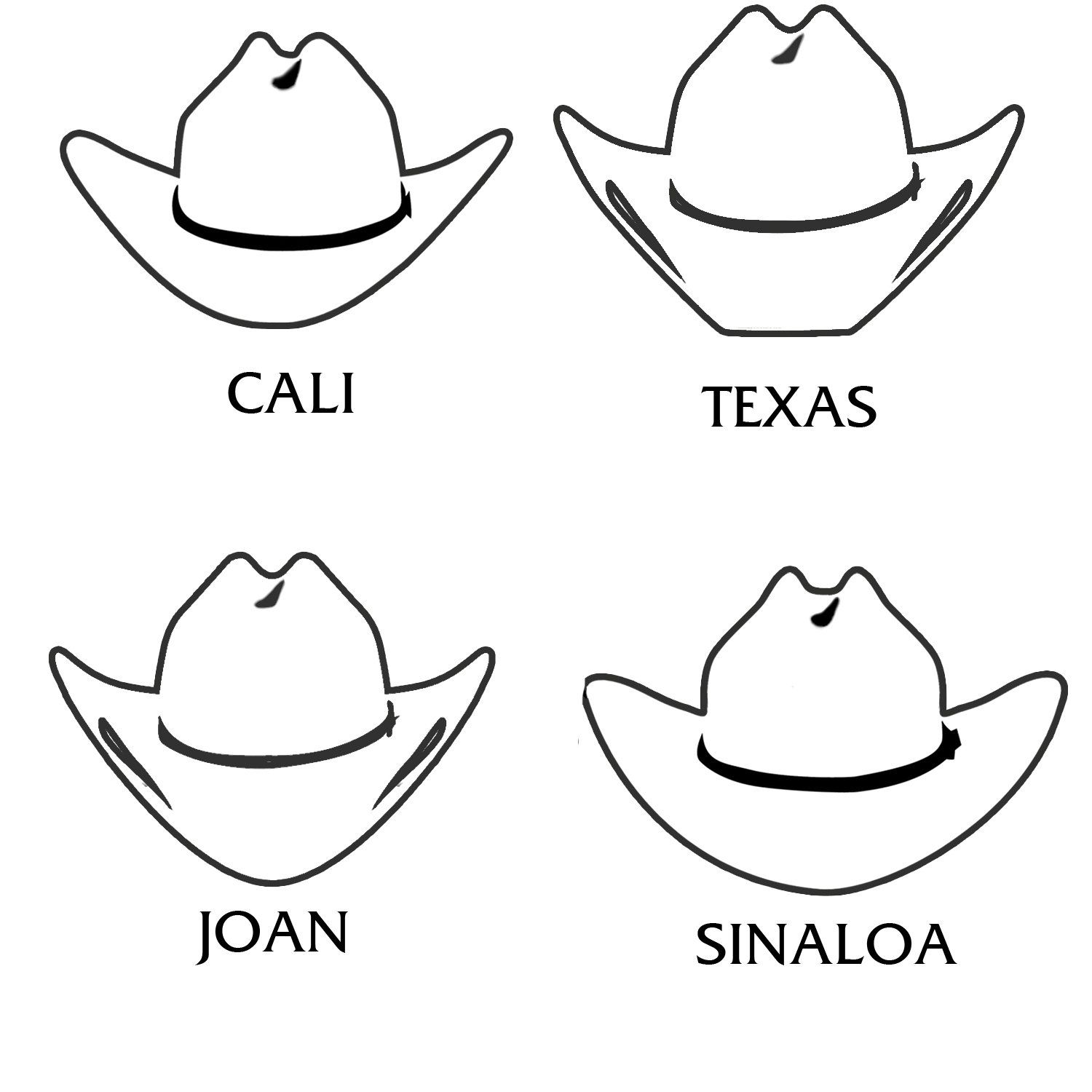 Wild West 500x Straw Hat Traditional Cattleman Crease Crown Cowboy Hat Drawing Cowboy Hats Best Cowboy Hats
