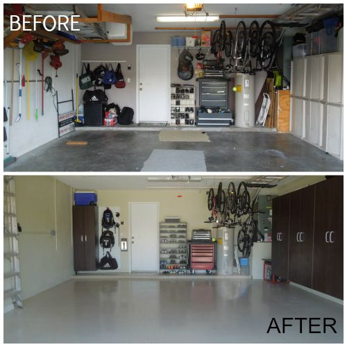 How To Makeover Your Garage For Less Than 2000
