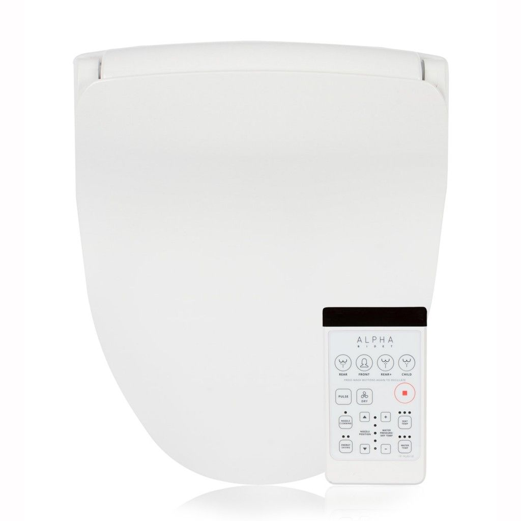 Alpha Ix Hybrid Bidet Toilet Seat W Remote Bidet Toilet Seat