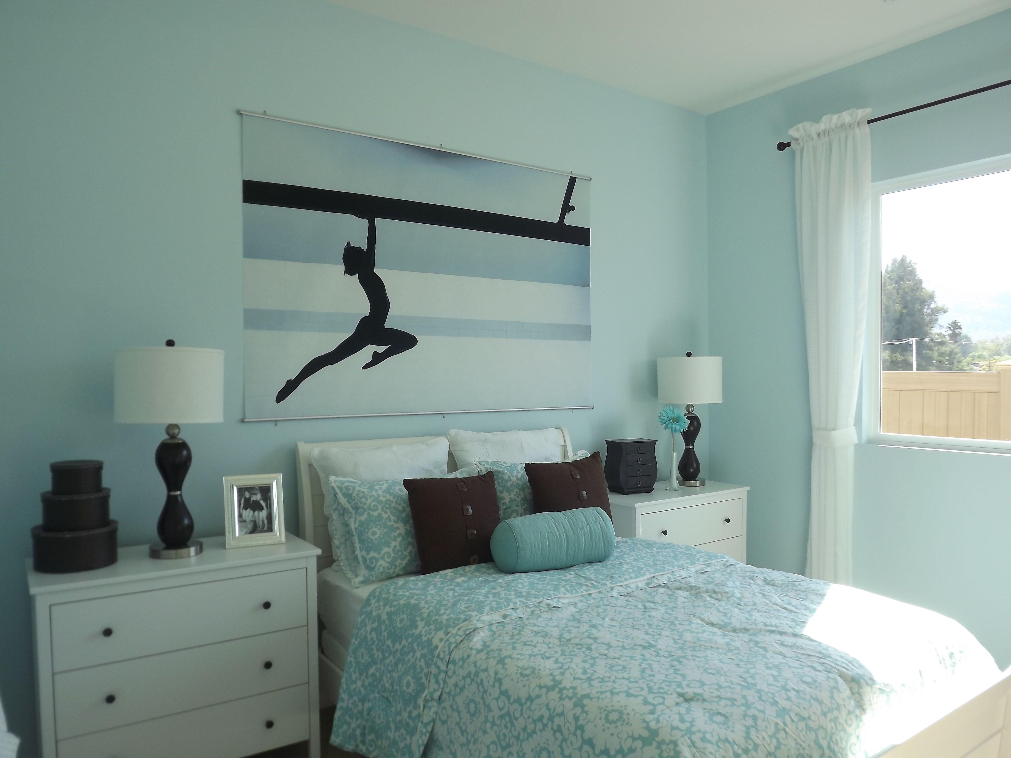 Little Gymnastic Girl's Bedroom | Girls bedroom themes ...