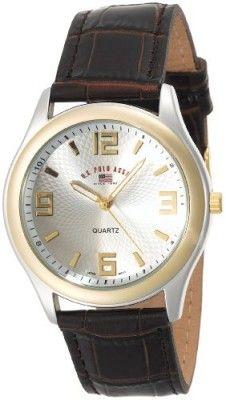 Relógio U.S. Polo Assn. Classic Men's US5132 Brown Crocodile Strap Watch #Relógio #U.S. Polo Assn