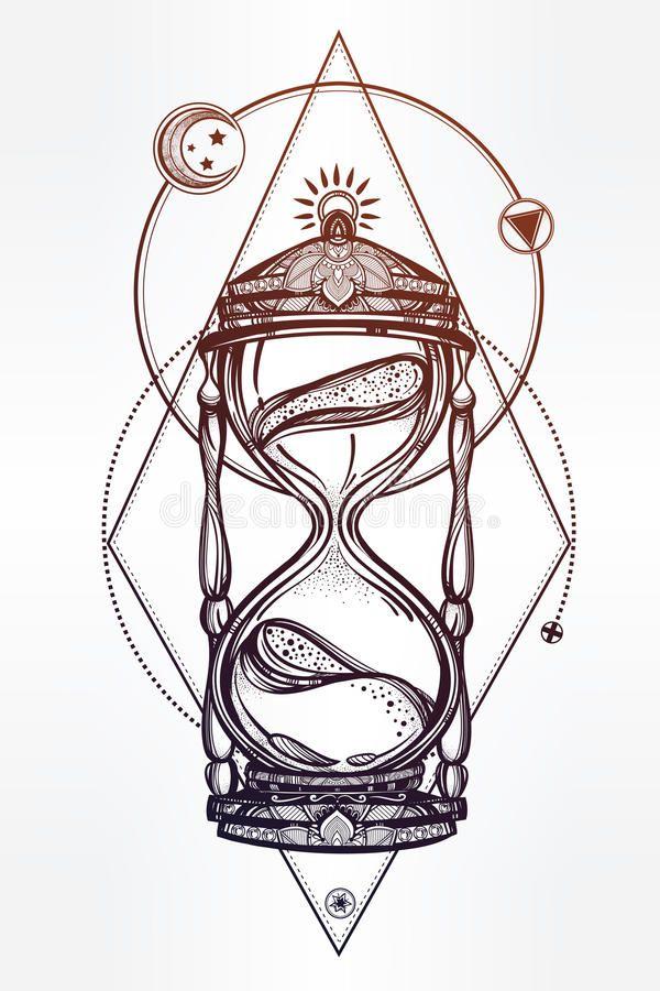 17+ Sablier du temps tatouage ideas in 2021