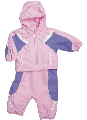 1e216beca8e40 Amazon.com  Columbia Edie Princess Toddler Girls Snow Jacket and Bib  Snowsuit 2T-4T  Clothing  89.88