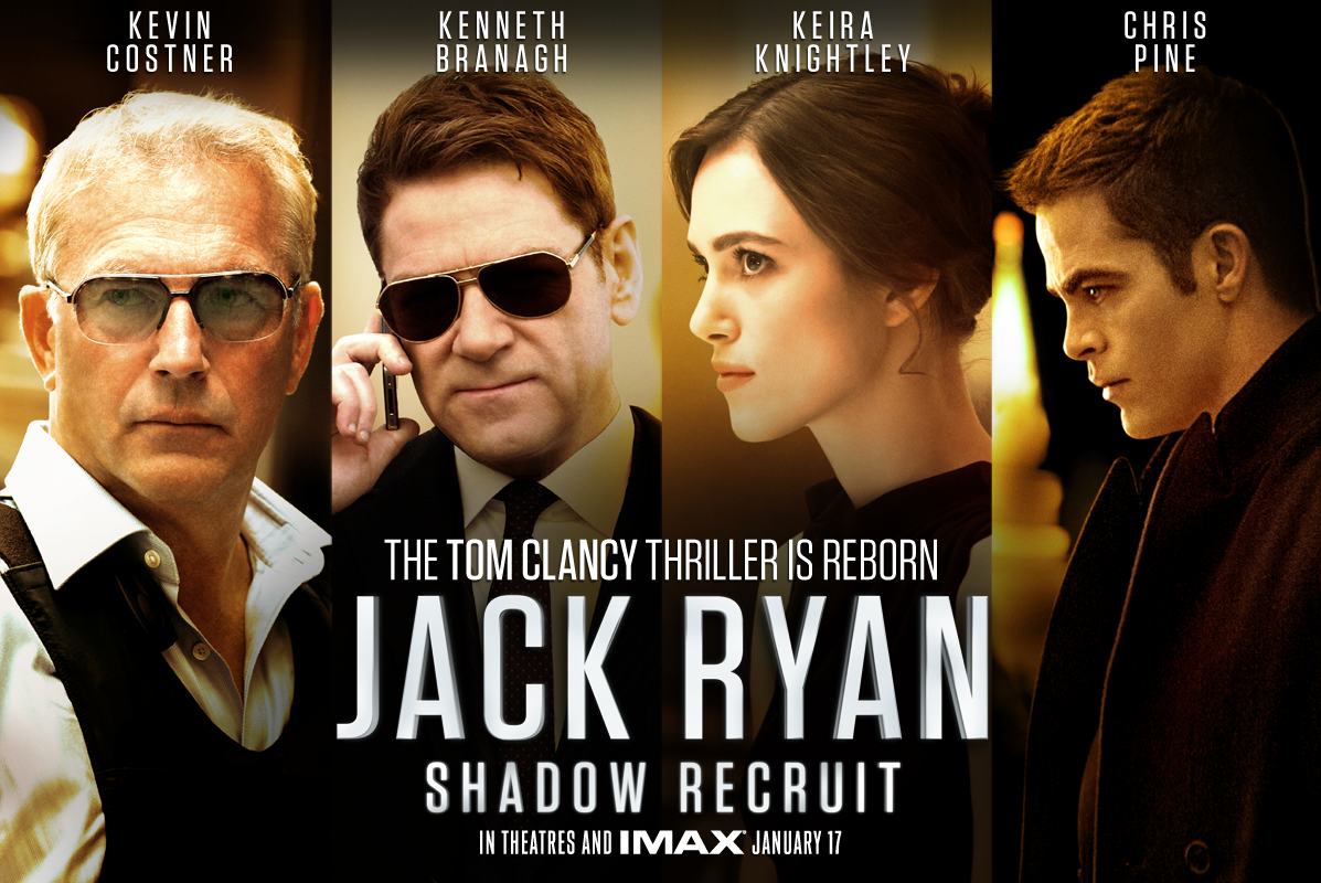 Pin By Marisa Paramo On Movie Posters Jack Ryan Shadow Recruit Jack Ryan Movies Chris Pine