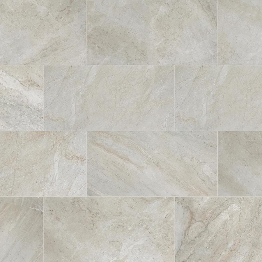 Style Selections Classico Taupe 12 In X 24 In Glazed Porcelain Floor Tile Lowes Com Porcelain Flooring Tile Floor Porcelain Floor Tiles