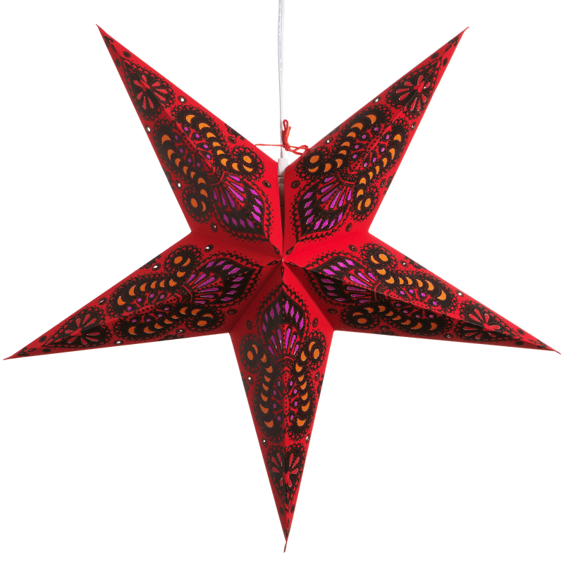 Hometown Evolution Inc S236 Paper star lights, Paper