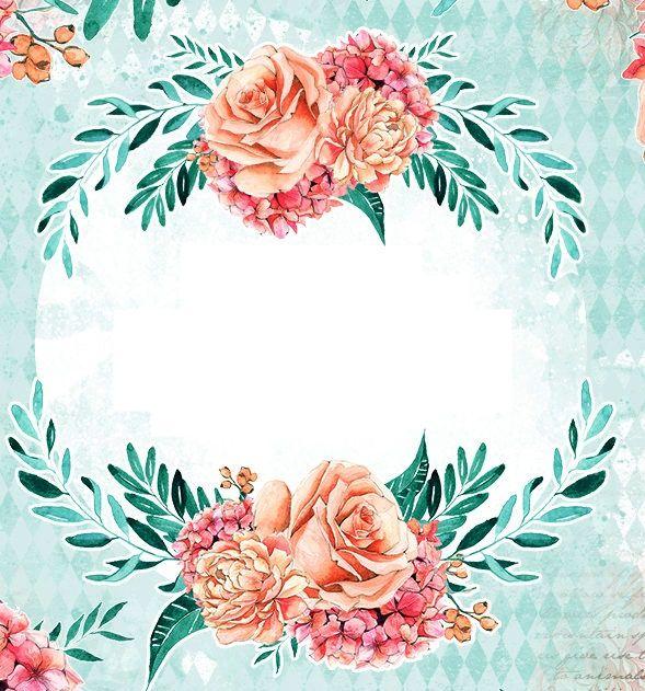 Wreath Drawing Flower Frame Flower Clipart