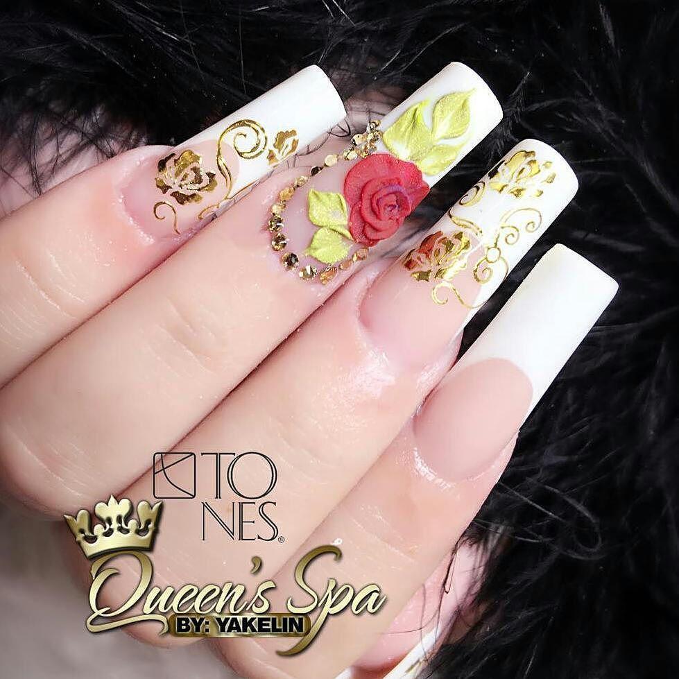 Amazing Nail Art Made Using Tones Products | Nailed It!! | Pinterest ...