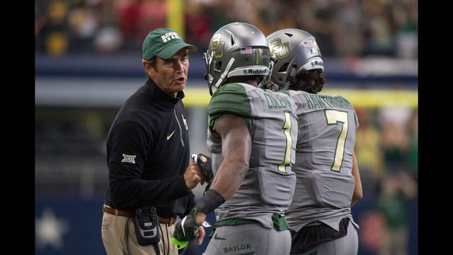 A few weeks ago it looked like Art Briles would never walk the sidelines as the head coach of the Baylor Bears. Now, reports are that the school's embattled Board of Regents may suspend Briles for one season and welcome him back to the school for the 2017 season.