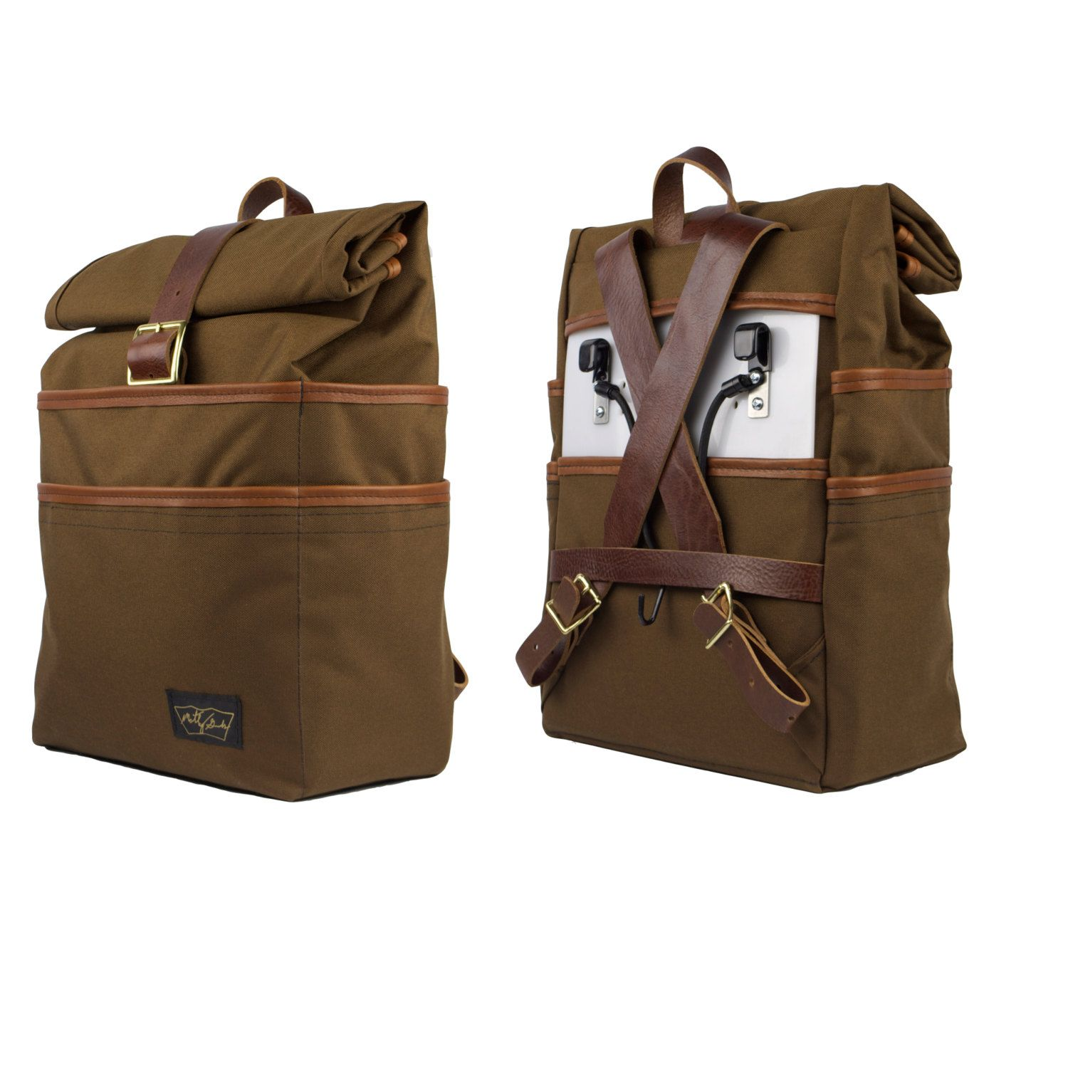 The Weekender Pannier and Backpack (230.00 USD) by MotleyGoods ...