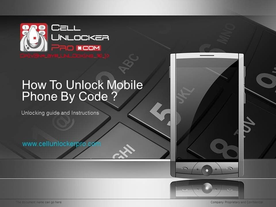 how to unlock telecom phone