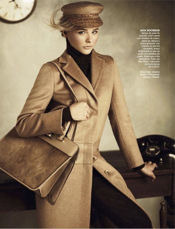 Chloe Moretz for Marie Claire  She's only 15, another holloywood childhood star rising.