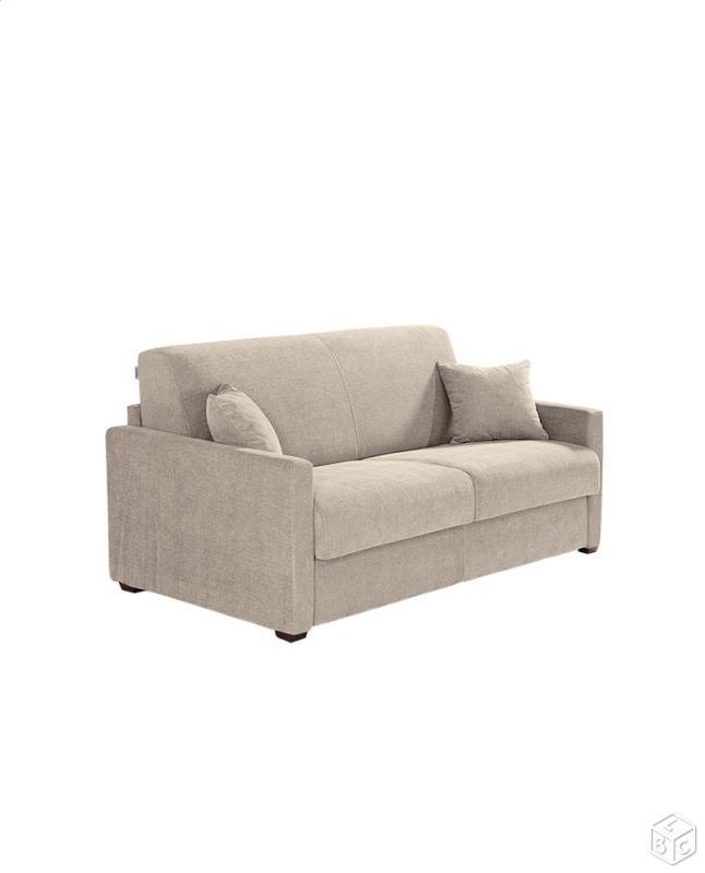 Canapé convertible lit SYSTEME RAPIDO CUBIK neuf Wishlist mobilier - chaise conforama salle a manger