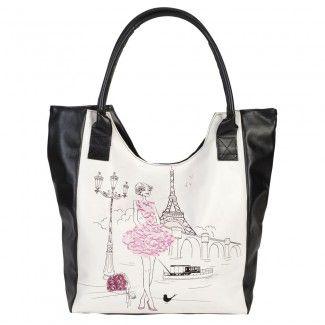 2e724b9ca7 Cabas Les parisiennes 'la romantique' - La Chaise Longue | À acheter ...