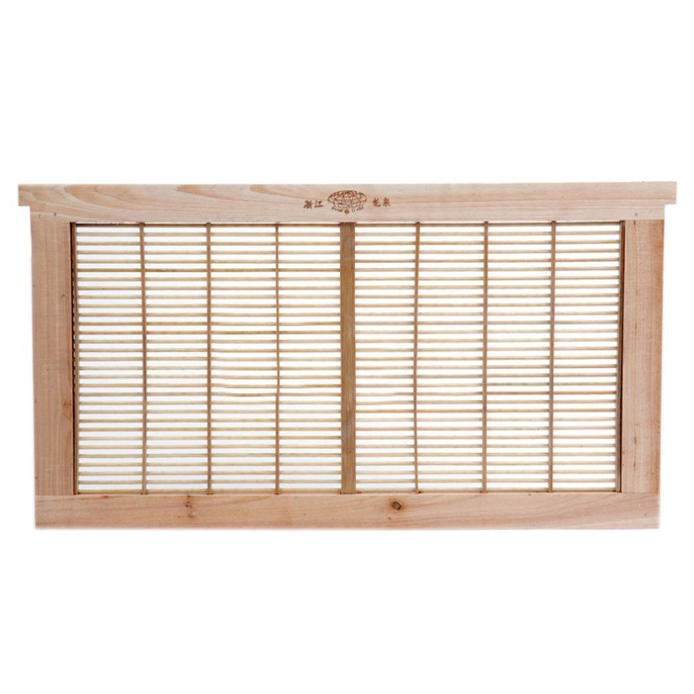 Apis Mellifera Stand Type Bamboo Frame Type Queen Excluder Beekeeping Equipment