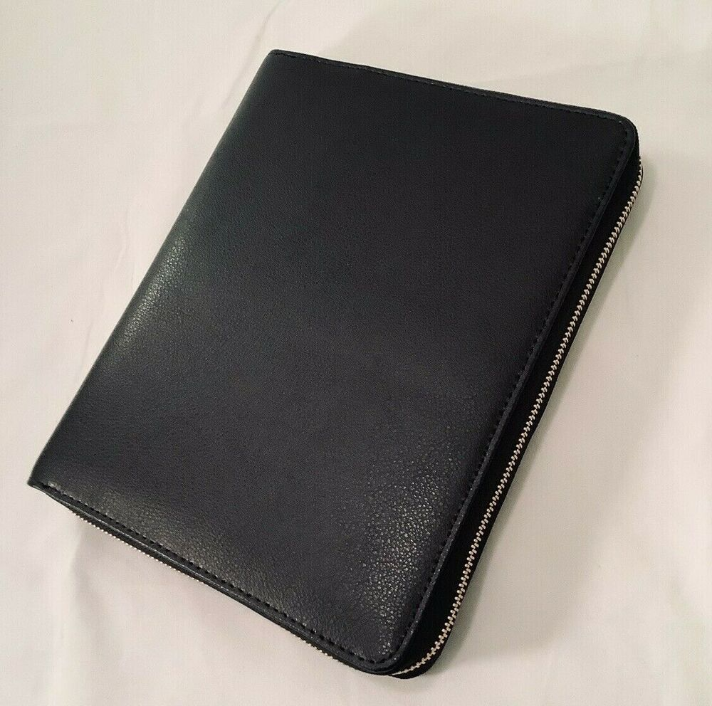 Planner w//Dust Bag A5 Large MINT NEW Kikki.k Leather Personal Planner