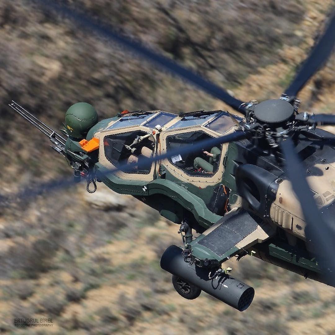 Elicottero T 129 : Repost @ertugrulbirel yüksek performans üstün ateş gücü türk
