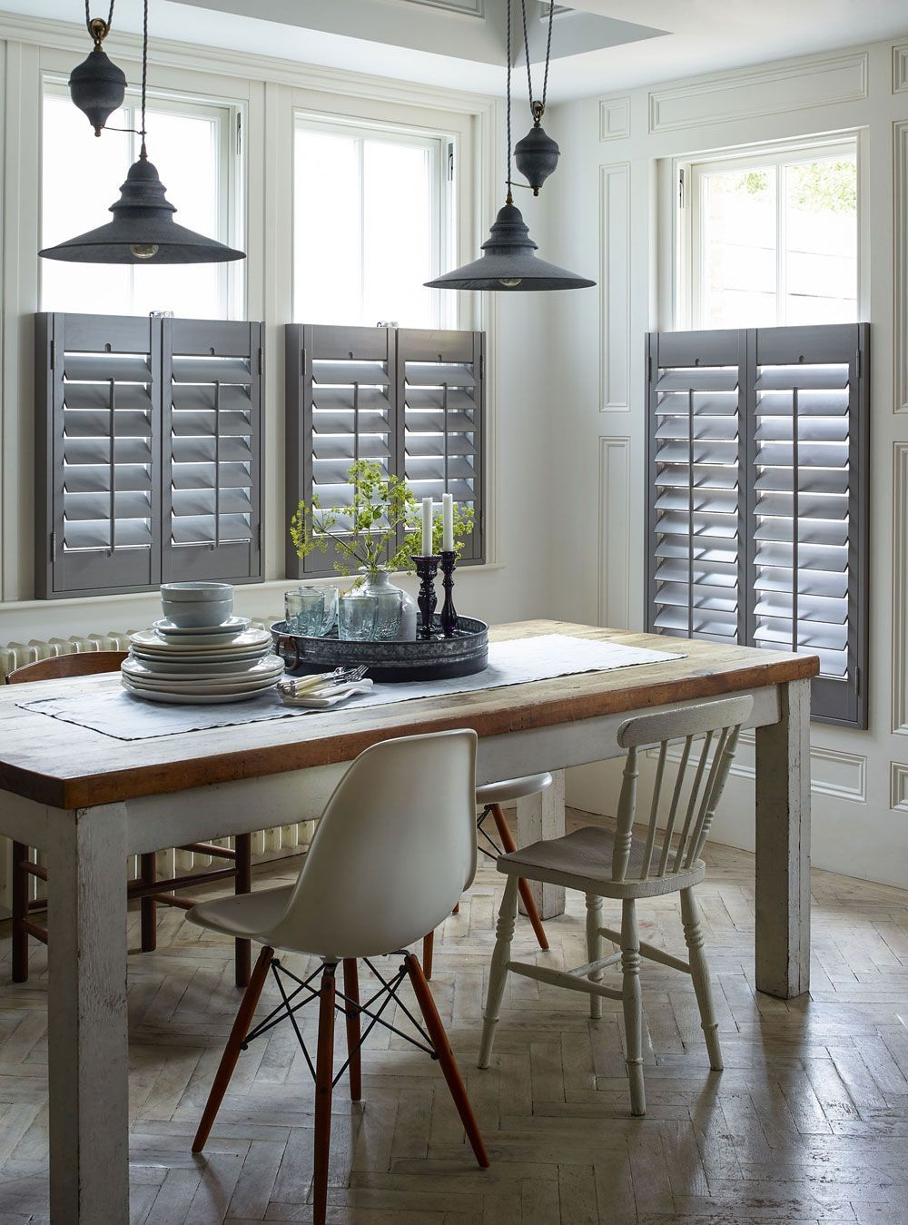 Creating a statement with café style shutters in your home