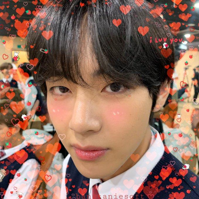 on Twitter Happy v day, Taehyung, Happy birthday