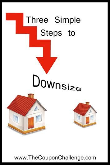 Week 7 of the Eliminate Debt Challenge: Make the Step to Downsize.  When you chose to make the step to downsize, it may be as simple as selling your old car or as drastic as selling your home.