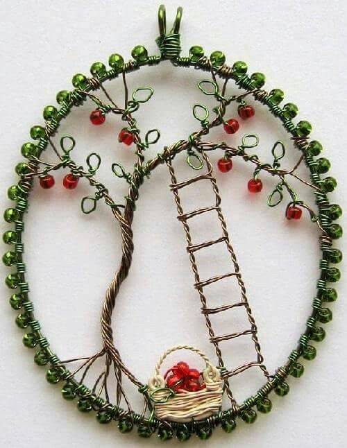 Pin by Andrea Andrea on Martisor   Pinterest   Wire craft, Wire ...