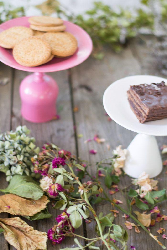 Soporte para tartas diy : via La Chimenea de las Hadas