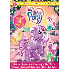 My Little Pony Classic Movie Collection Dvd My Little Pony Princess My Little Pony My Little Pony Dvd