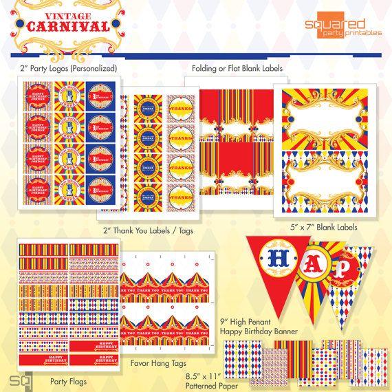 circus patterns printable - photo #17