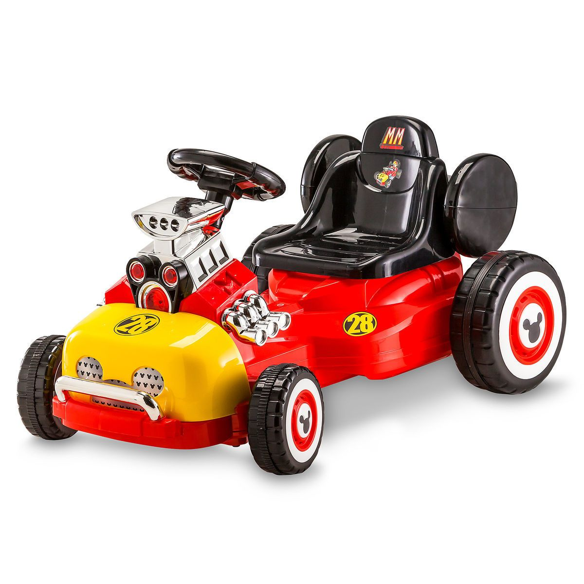 Mickey Mouse Electric Ride On Roadster Mickey Roadster Racers