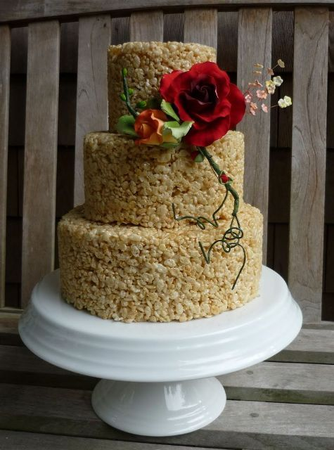39 Tasty And Easy To Make Krispie Rice Wedding Cakes ...