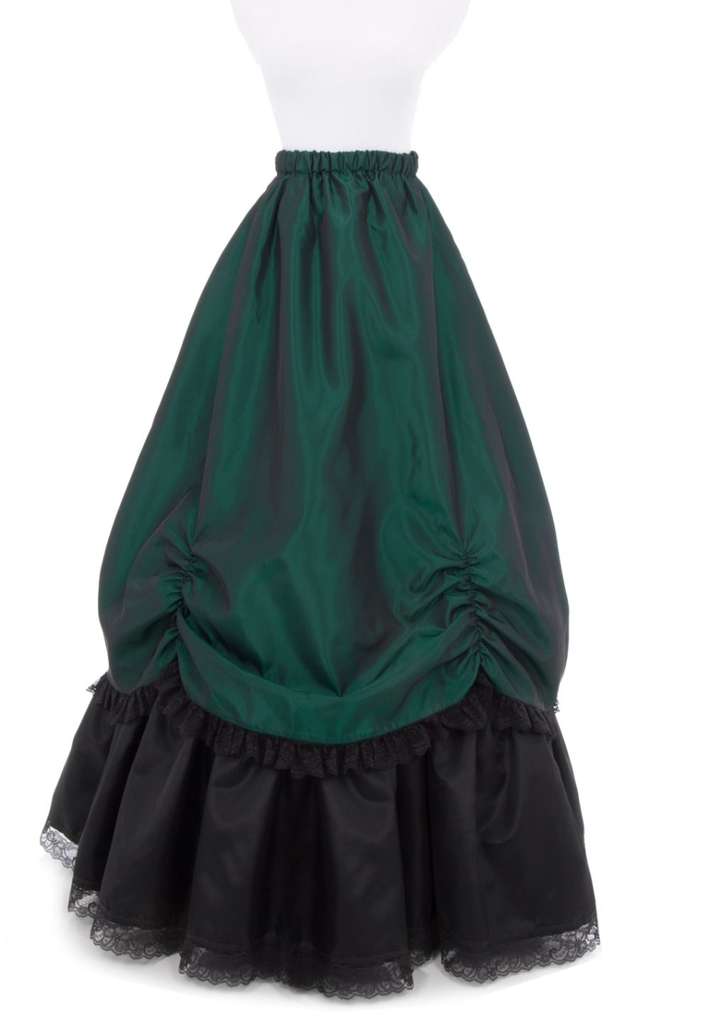 ed2864257 Royal Blue Victorian Skirt Victorian French Pleated Gathered Bustle Skirts.  Yesterday's price: US $100.00