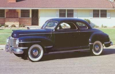 Our first family car.  1942 Dodge.