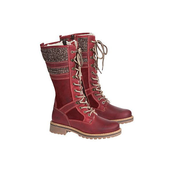 Women s Bos   Co Holden Wool-Lined Waterproof Leather Boots ( 225) ❤ liked  on Polyvore featuring shoes 6146d47cd